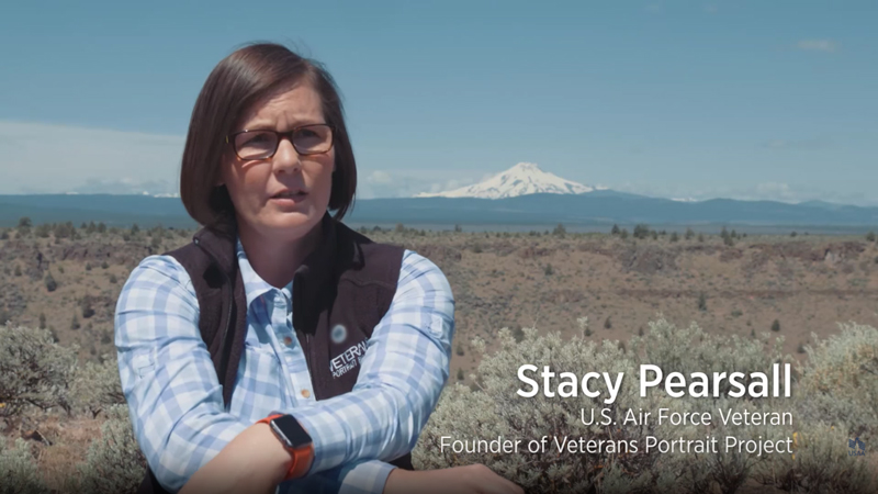 The Veterans Portrait Project with Stacy Pearsall​